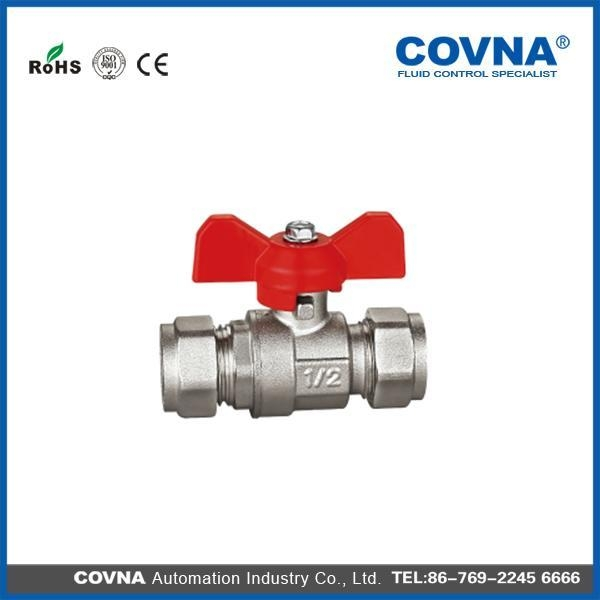 China DL1131 Brass Ball Valve with Connector