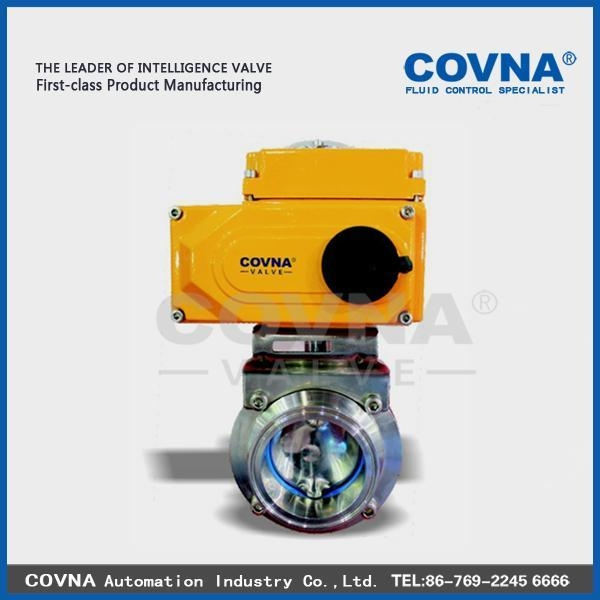 Cheap Electric Sanitary Butterfly Valve for sale