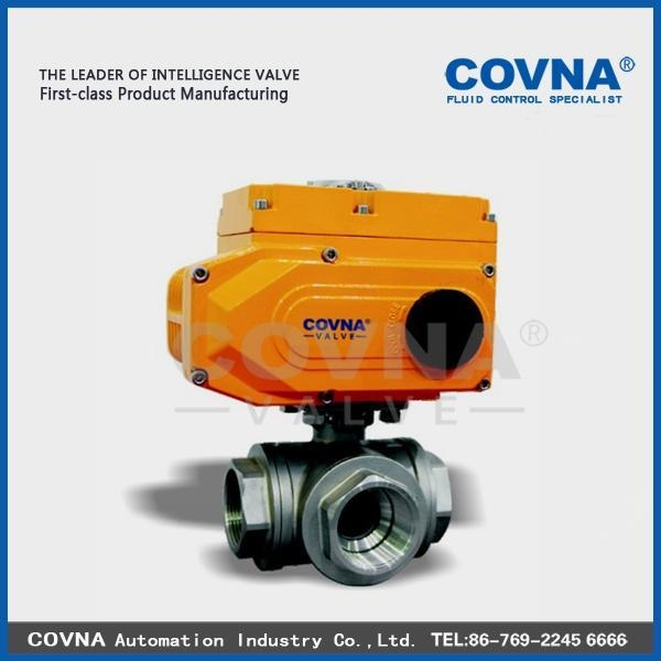 Cheap Electric 3 Way Ball Valve for sale