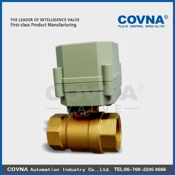 Cheap Electric Brass Ball Valve for sale