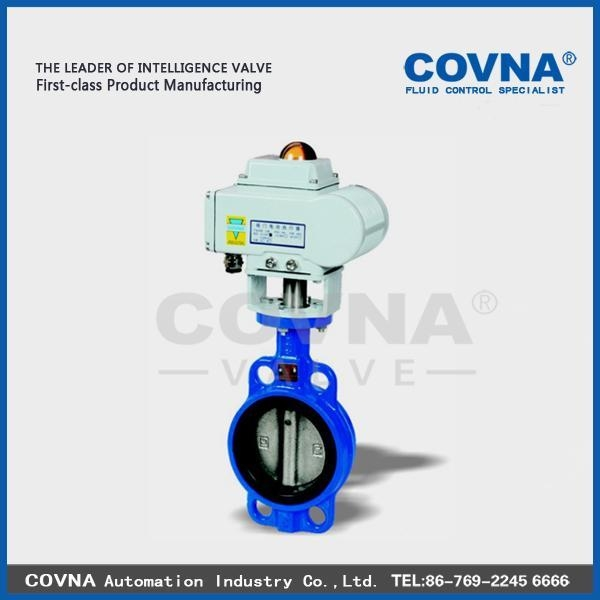Cheap Electric Wafer Type Butterfly Valve for sale