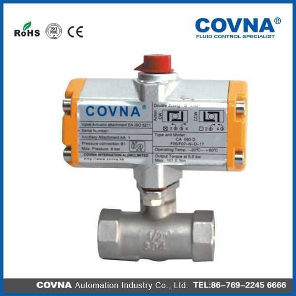 China HK-58T Stainless Steel 3 Way Ball Valve