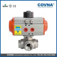 Quality HK-56T Pneumatic 3 Way Ball Valve wholesale