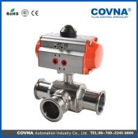 Buy cheap Stainless Steel Sanitary Pneumatic Ball Valve from wholesalers