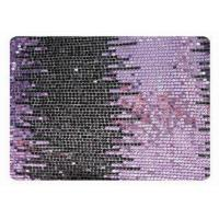 Buy cheap OEM / ODM Custom Beaded Lace Fabric , Shining Sequins Design CY-XP0014 from wholesalers