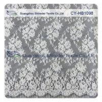 Quality Fashion Snow White Chantilly Lace Trim For Wedding Dress And Lingerie wholesale