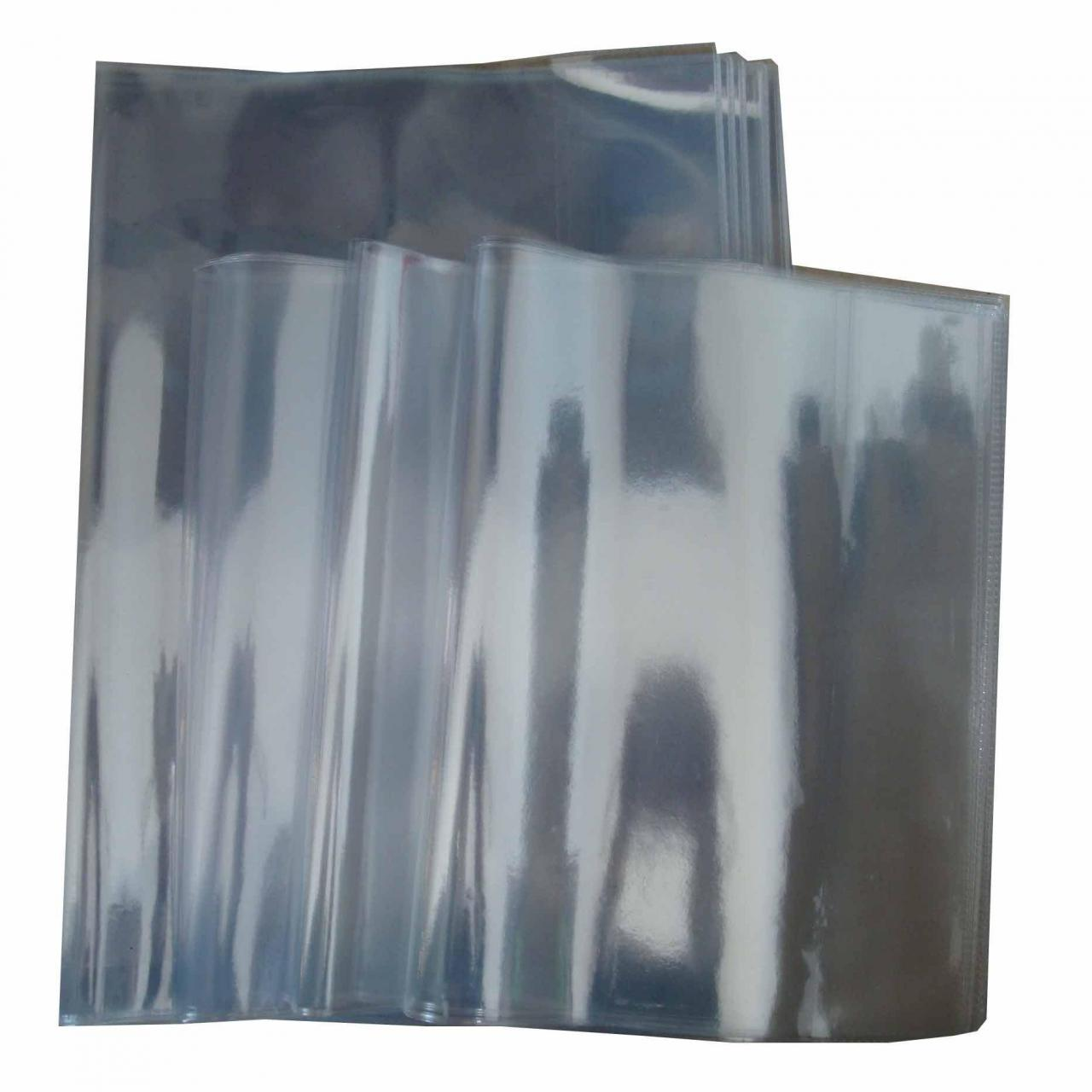 Quality School Book Covers PVC transparent Clear Book Cover Jacket wholesale