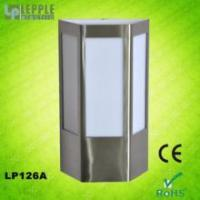Quality New design E27 socket IP44 waterproof modern stainless steel garden outdoor wall light wholesale