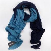 China Cotton Scarves hang dyeing 2 color crinkle cotton scarf on sale