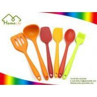 Colorful Standing 6 Piece Nylon Kitchen Utensil Sets