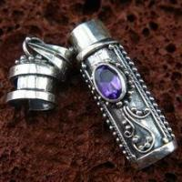 China American Indian Cremation Jewelry Vintage Cremation Urn Pendant for Memorial on sale
