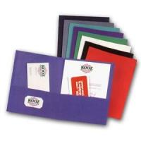 Quality Paper Folders Recycled Kraft Two Pocket File Folder wholesale