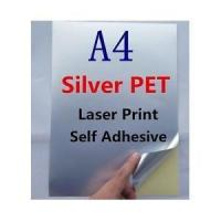 Buy cheap Stickers/Labels A4 Silver PET Laser Print Self Adhesive from wholesalers