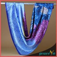 Quality Scarf Oil Painting Digital Printing Fan Scarves wholesale