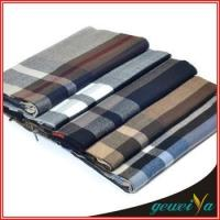 Buy cheap Scarf In Stock Acrylic Checked Jacquard Scarves from wholesalers