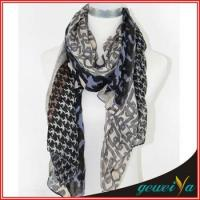 Buy cheap Kinds of Styles Printed Chain Scarf from wholesalers