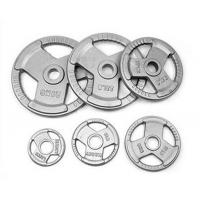Buy cheap Weight Plate & Racks Three Holes Painting Cast Iron Weight Plate from wholesalers