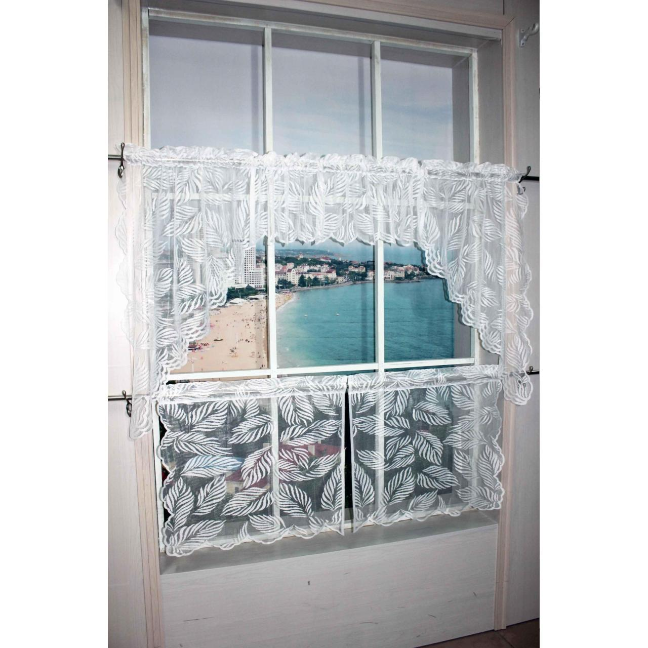 China Kitchen Curtain Laces Curtain No.: Z003-2-4 on sale