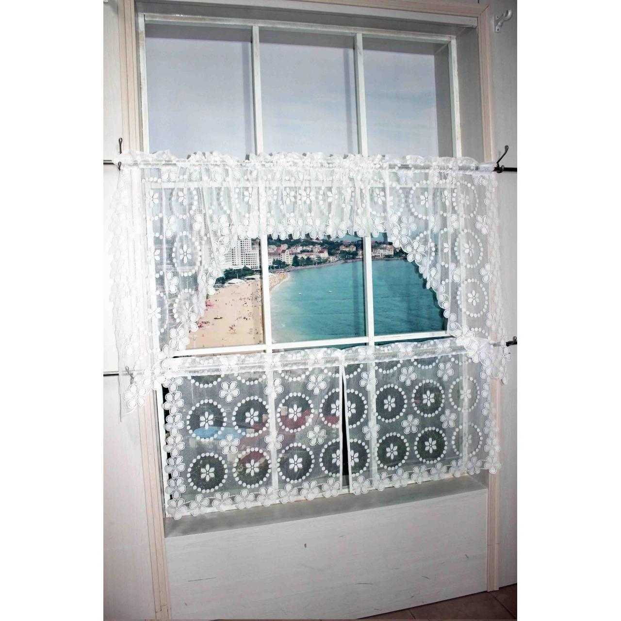 China Kitchen Curtain Laces Curtain No.: Z002-2-4 on sale