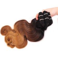 Buy cheap 3 Tone Ombre Hair Extensions Body Wave (1b#4#27# ) Ombre Brazilian Hair Weave Ombre Human Hair from wholesalers