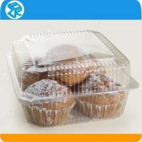 China Customized clear or transparent small clear plastic packaging boxes for baked goods on sale