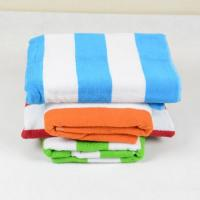 Buy cheap stripe terry beach towel Product Model:stb01-1 material:100% cotton 21s/2 from wholesalers