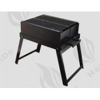 China Heat-resistant painted steel smokeless folding charcoal grill on sale