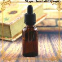 Quality 50ml glass dropper bottle amber e-juice bottle child safety cap trade assurance wholesale