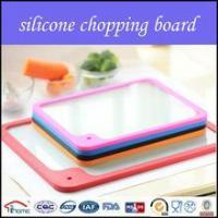 China Silicone patented cutting board/Tempered Printing Glass for Cutting Board on sale
