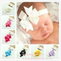 Quality Big Bowknot Baby Headbands wholesale