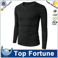 Professional custom wholesale long sleeve t-shirt made in China