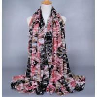 Buy cheap Camouflage viscose silk scarves from wholesalers