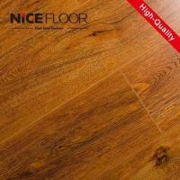 Quality 8mm 12mm hdf V-groove painted german techniquel aminate flooring wholesale