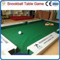 Quality 2016 new game snooker ball table,billiard soccer ball game wholesale