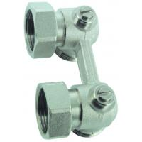 Buy cheap H valve JD-4521 Angle two pipe H-valve from wholesalers