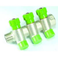Quality manifold,fittings JD-4645 Liner manifold with stop valve for Copper-pex-Multilayer pipe MF wholesale