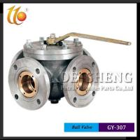 Quality Camlock Coupling Series GY-307 FOUR WAY BALL VALVE wholesale
