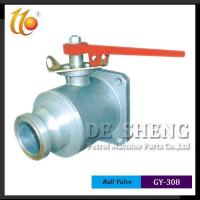 Quality Camlock Coupling Series GY-308 SINGLE WAY BALL VALVE wholesale