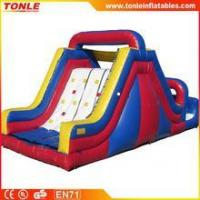 China Inflatable Rock Climb Slide, inflatable interactive game for sale on sale