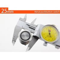China monentary LED push button 25mm diameter on sale