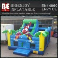 Quality multiplay bouncer ocean inflatable bouncer slide wholesale