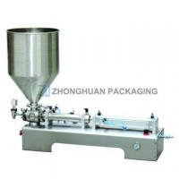 Quality One Head Ointment Filling Machine ZHDG wholesale