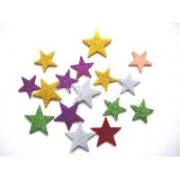 Quality Arts& Crafts Self adhesive glitter star eva sheets,funny shaped self adhesive foam sheet wholesale