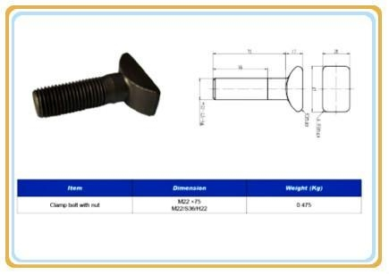 Cheap Railway Bolt railway sleeper bolts for sale