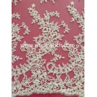 Quality Wedding embroidery fabric sequins embroidery fabric wholesale