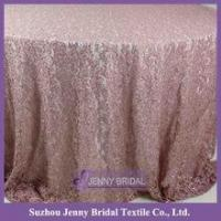 Buy cheap TL043B white lace fabric crochet lace tablecloth from wholesalers