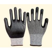 Quality cut-resistance gloves 10 gauge HPPE liner, with nitrile coating , cut resistance glove NO.: XH-CR01 wholesale