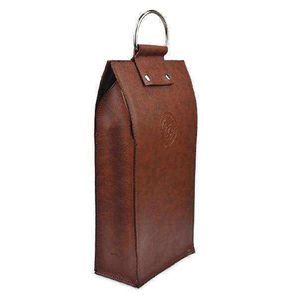 Cheap Gift Craft Industrial Use and Handmade Feature leather wine case carrier for sale