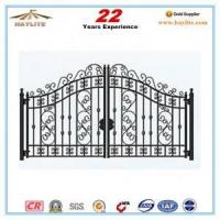 Quality new design garden iron gate wholesale