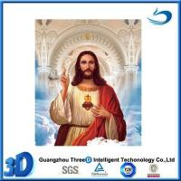 Quality Custom Design 3D Lenticular Picture Religion Flip Effect For Wall Art wholesale